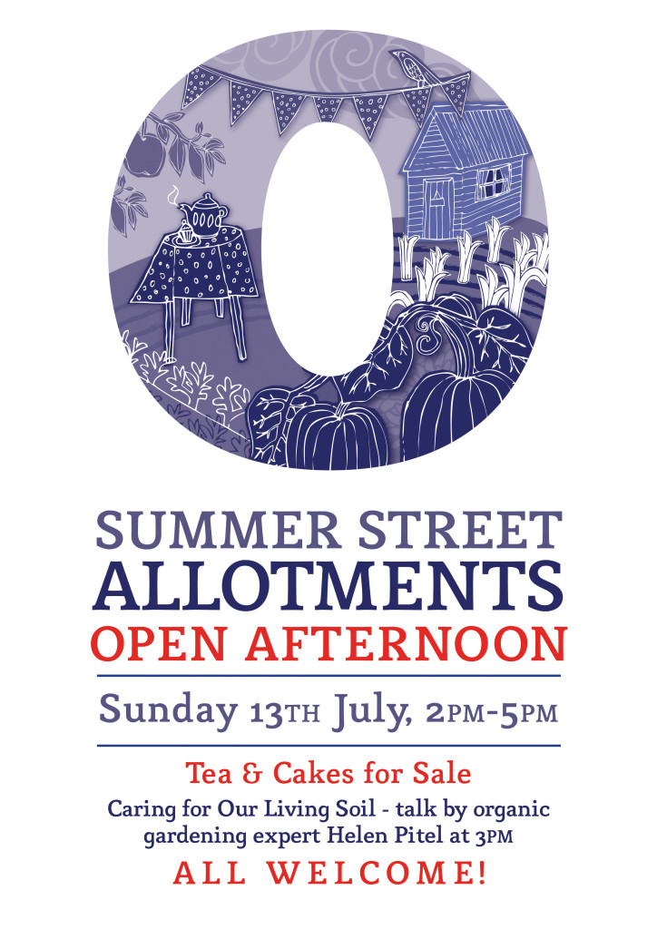 Summer street open afternoons